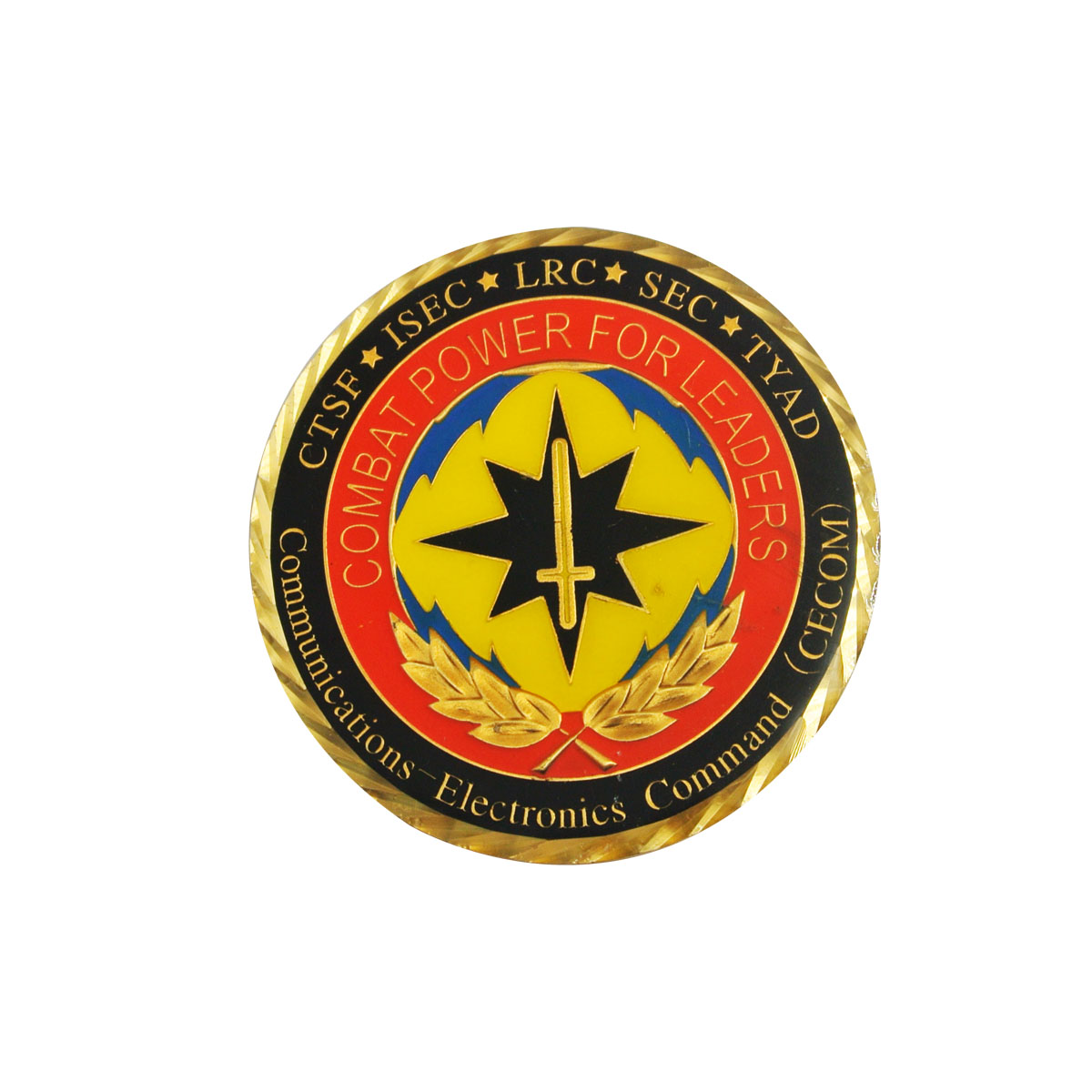 Gold plating custom challenge coins for sale