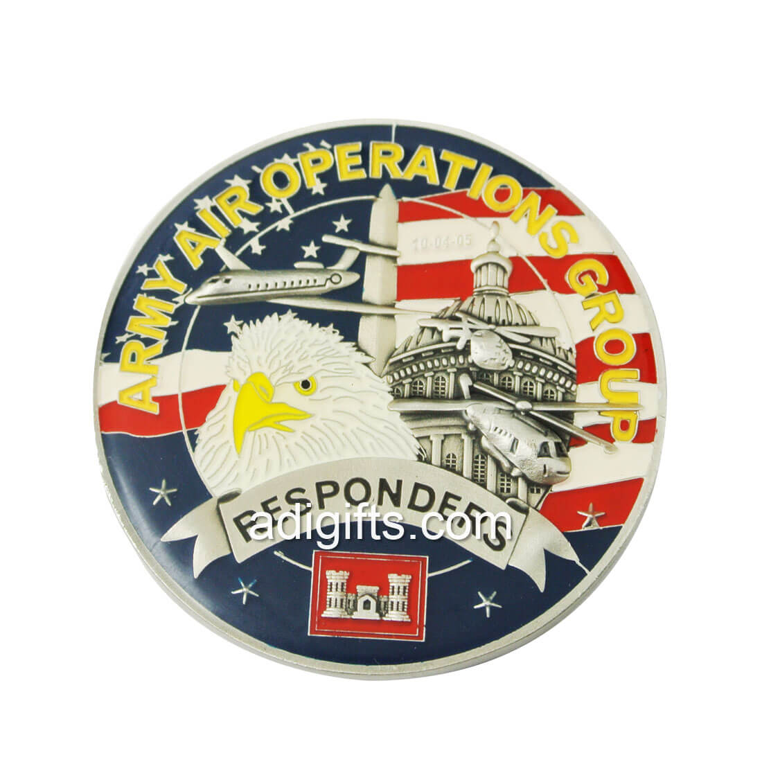OEM/ODM custom hard enamel/imitation of the air force coins