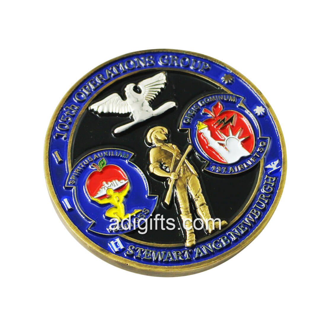 Hot sales Brass custom made challenge coins with logo