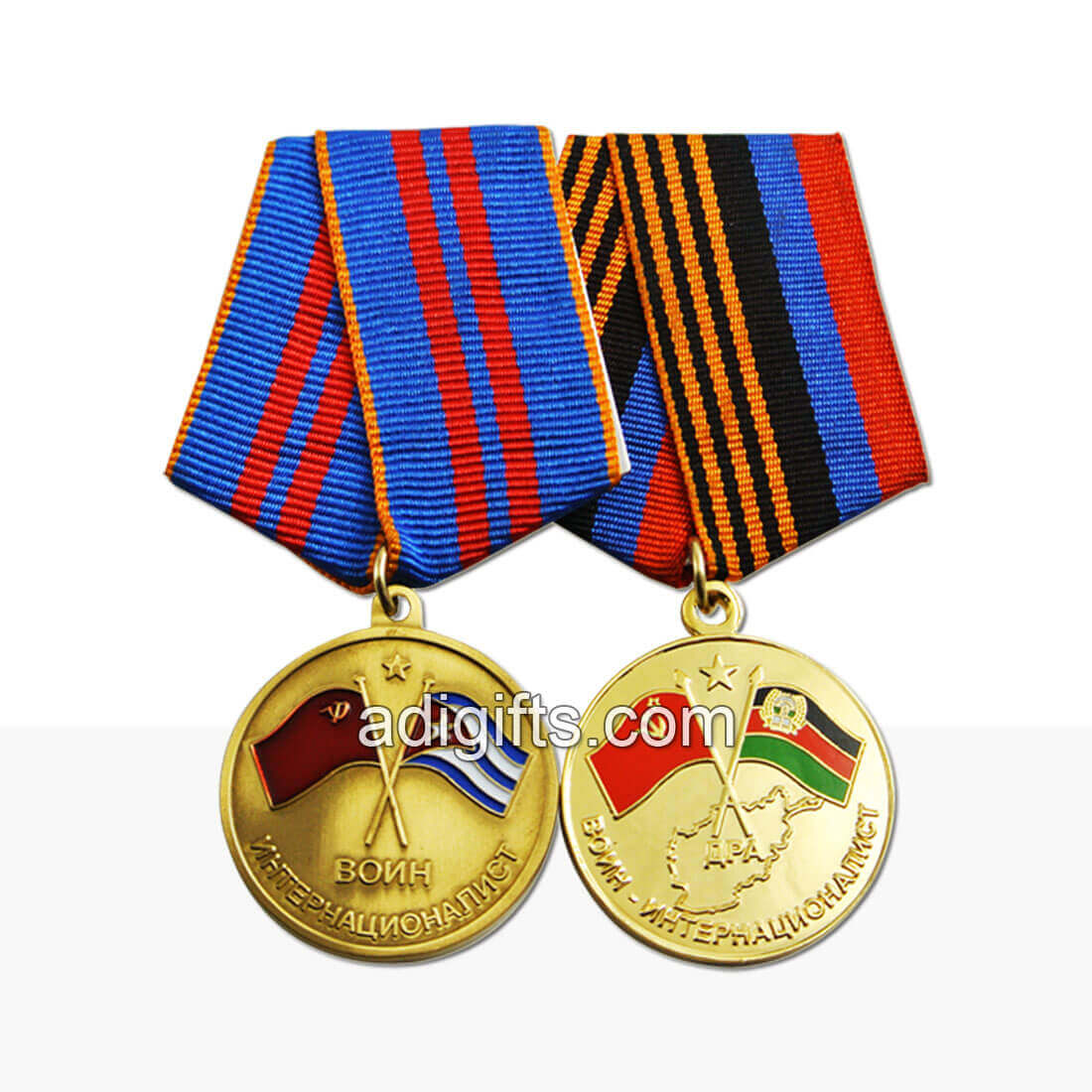 Hot sales custom army medals and ribbons