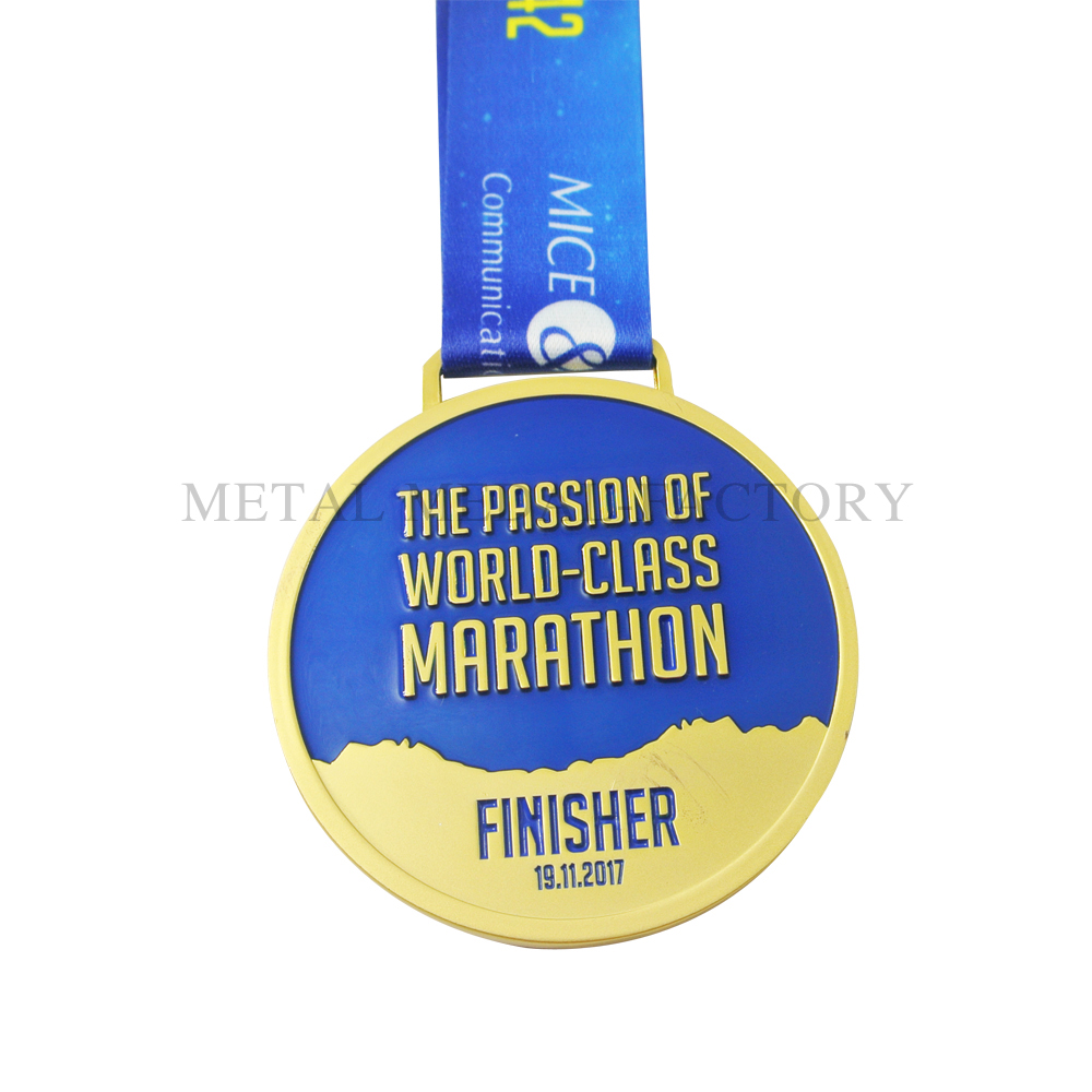 The Passion Of Word Class Custom Marathon Medals
