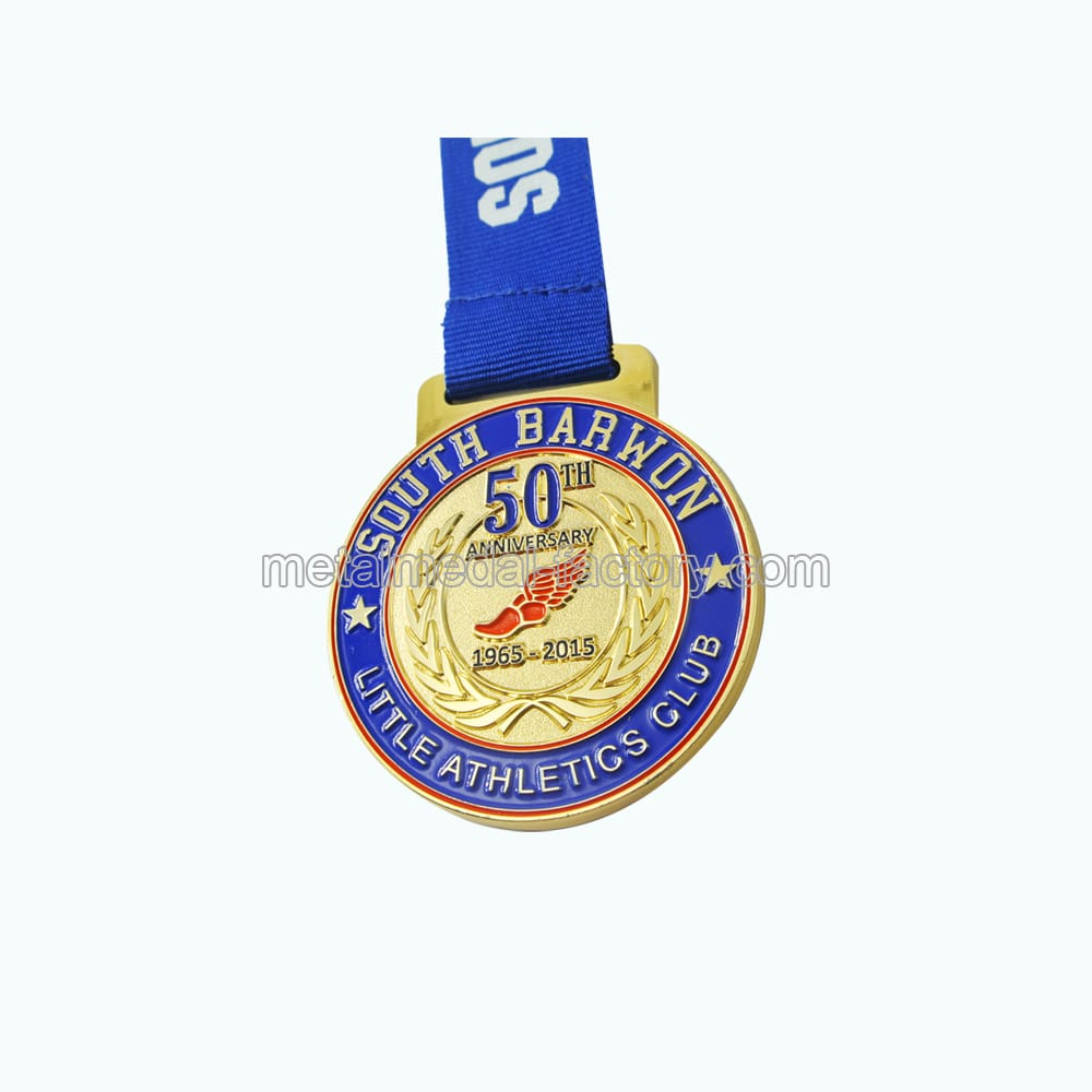 South Barwon Custom Metal Souvenir Medal