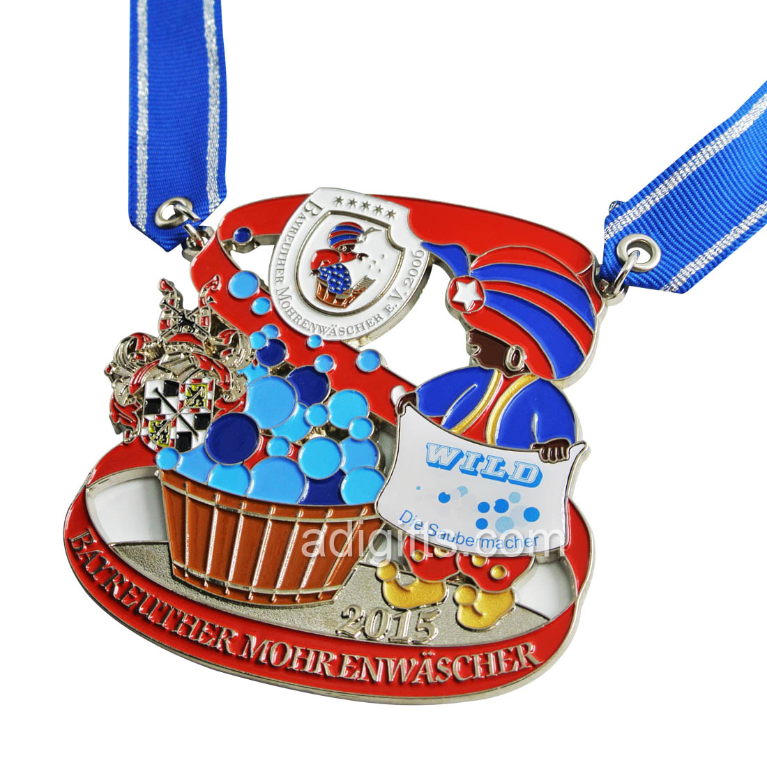 hot sales Carnival medal for Carival season 2018