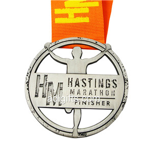Running Marathon Finisher Award Medal