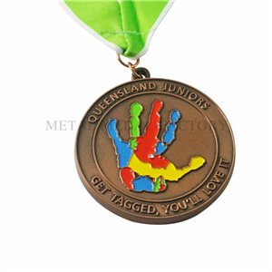 Colorful Hand Custom Medals No Minimum Order