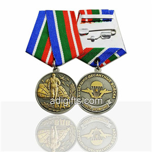 Double plating and double 3D custom navy medals