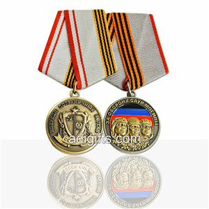 Wholsale custom military ribbons and medals
