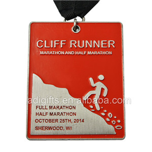 custom sport cheap award running medal