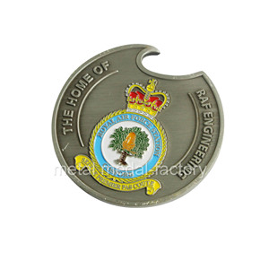 Newest Bottle opener custom military coins for sale