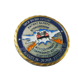 Custom Log Dog Soft Enamel Best Challenge Coins
