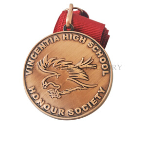 Wholesale Medals Made for Vingentia High School