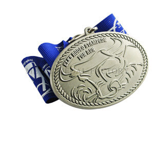Elks Rooeo Stampete Fun Run Design Your Own Medal Online