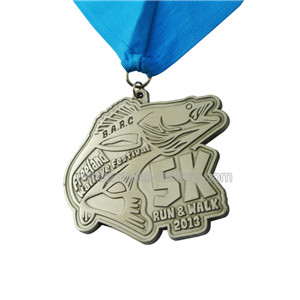 Die Antique Medal | Metal Medal Custom | 2D Running Medal