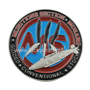 Cheap custom metal 3d military challenge coins no minimum