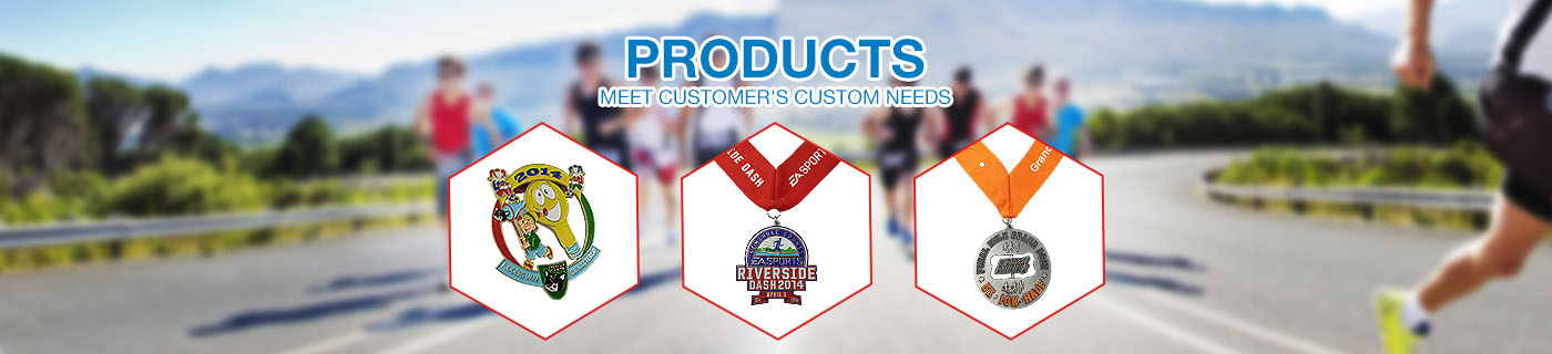 custom running sport medals no minimum