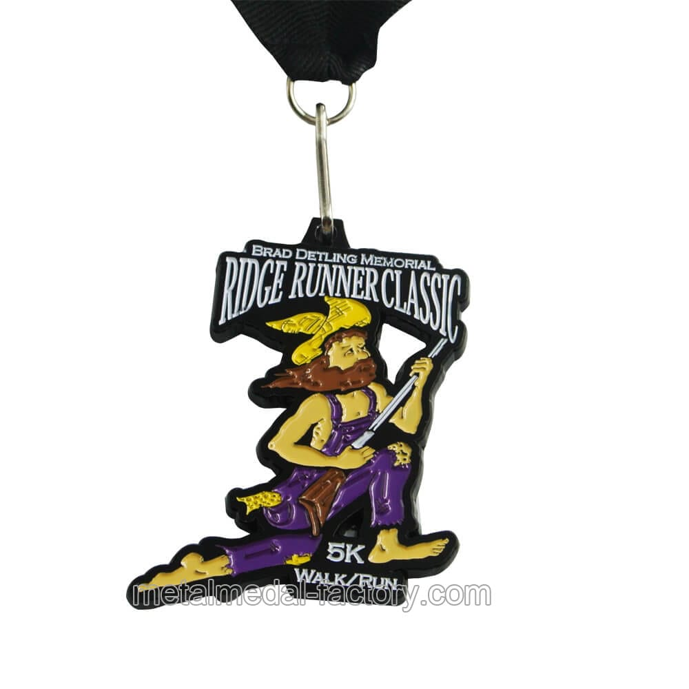 Hot sales design your own 5K walk and run medal