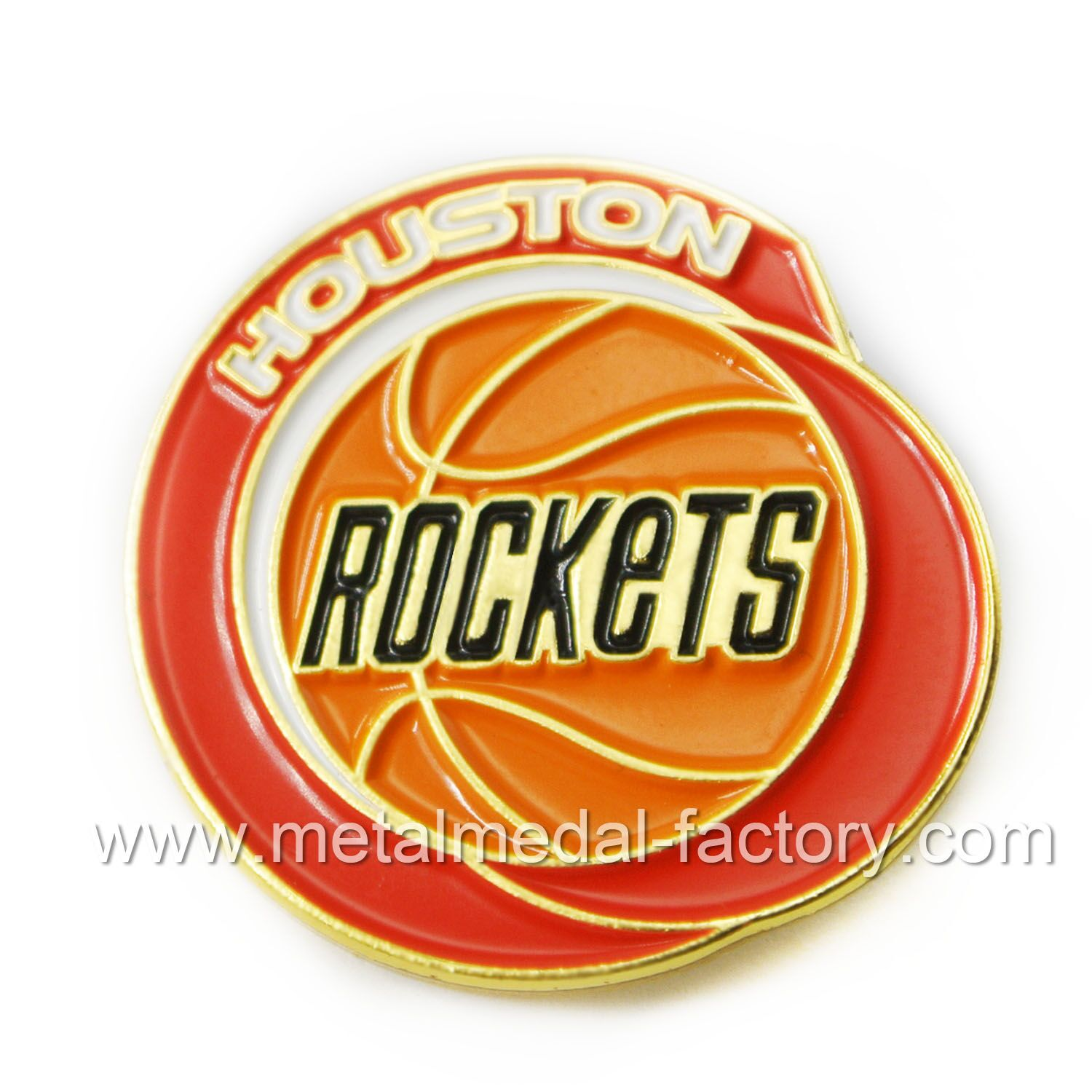 Houston Rockets: we are very satisfied with their efficient service and high quality pins