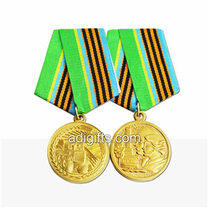 China manufacturer custom army medals for sale