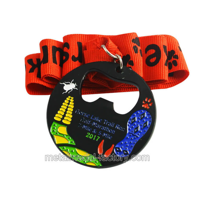 custom sport medals with bottle opener