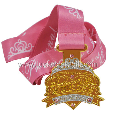Custom metal gold 3d award medal no minimum, do yoyu like it?